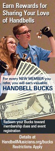Handbell Bucks!